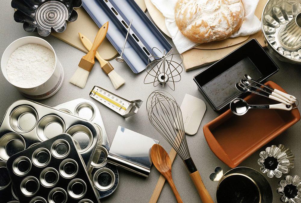 Инструменты для выпечки хлеба на закваске